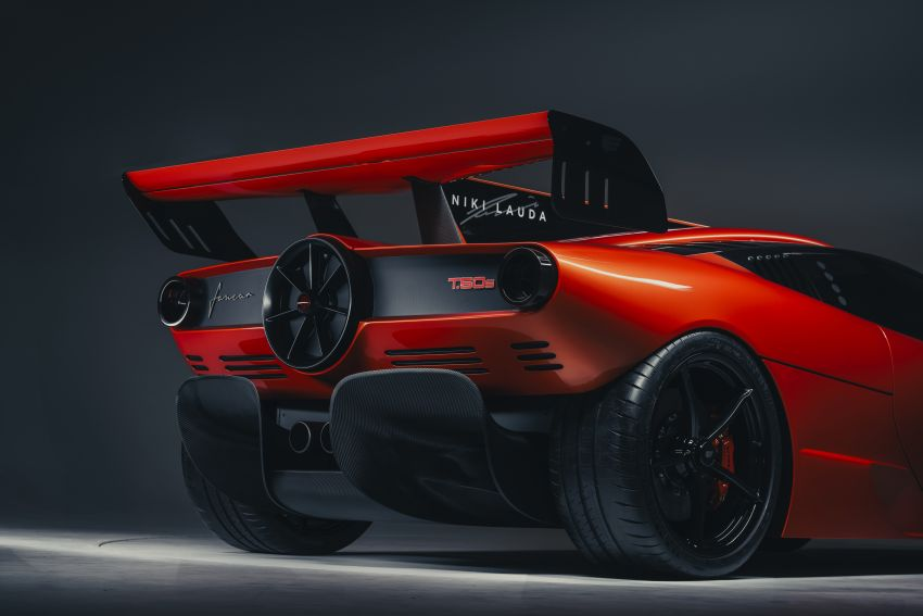Gordon Murray Automotive T.50s Niki Lauda – 711 PS track monster with 1,500 kg downforce, 852 kg weight Image #1252266