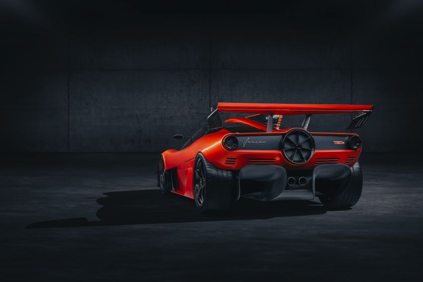 Gordon Murray Automotive T.50s Niki Lauda – 711 PS track monster with 1,500 kg downforce, 852 kg weight Image #1252240