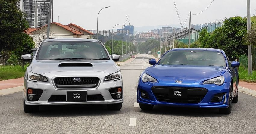 GoCar Subs introduces new Sports category – Subaru BRZ, WRX subscription plans from RM2,699 monthly Image #1251958