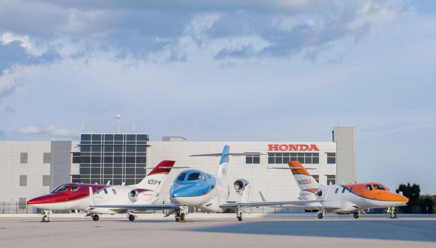 HondaJet is the most delivered aircraft in its class for the fourth consecutive year – 31 units sold in 2020 Image #1255372