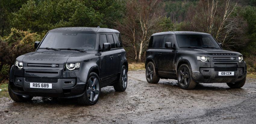 Land Rover Defender V8 diperkenal – kuasa 525 PS Image #1253879