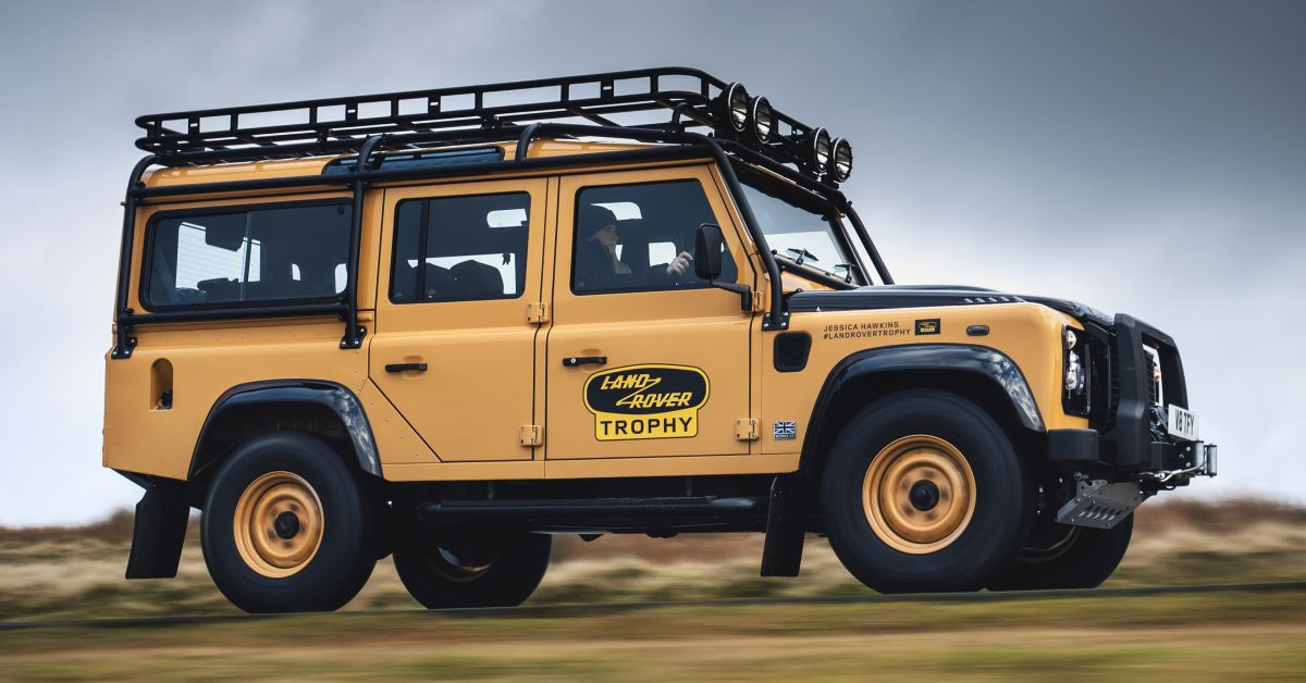 2021 Land Rover Defender Works V8 Trophy debuts - 25 units ...