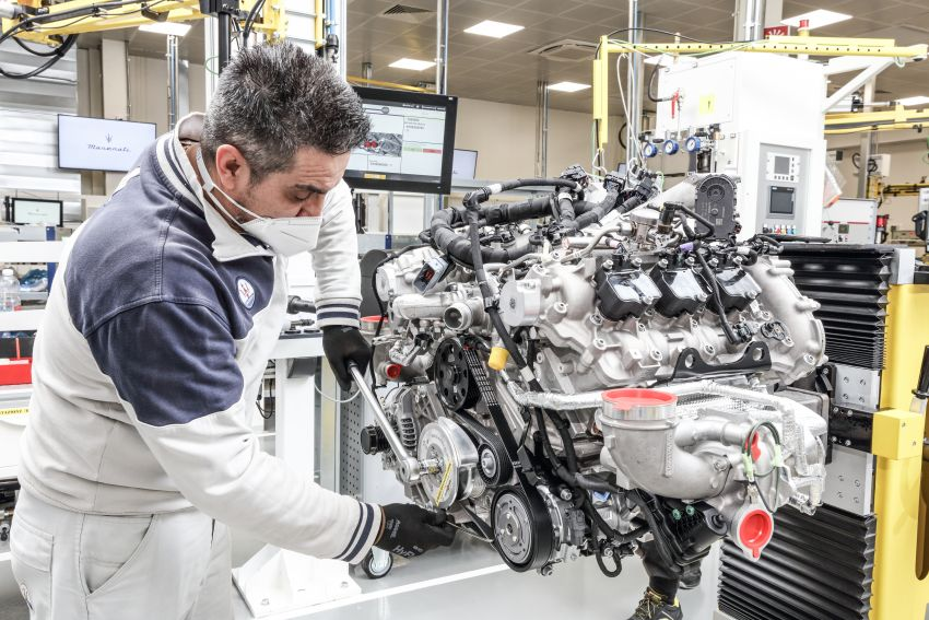 Maserati Nettuno engine – getting acquainted with the 3.0L V6 heart of the new MC20 and the place it is built Image #1248053