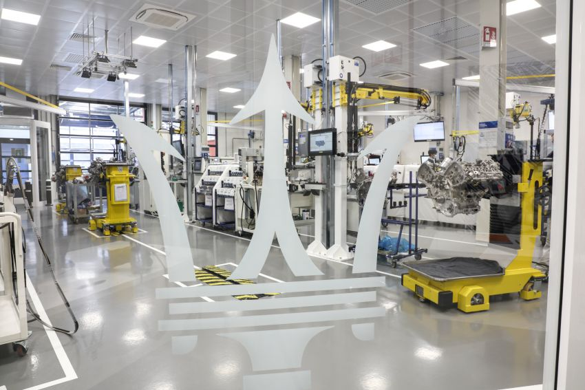 Maserati Nettuno engine – getting acquainted with the 3.0L V6 heart of the new MC20 and the place it is built Image #1248058