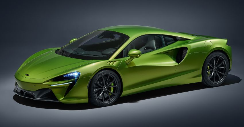 McLaren Artura debuts – new plug-in hybrid supercar with 680 PS and 720 Nm; 0-100 km/h in three seconds Image #1248880