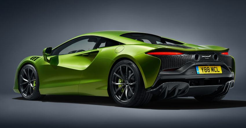 McLaren Artura debuts – new plug-in hybrid supercar with 680 PS and 720 Nm; 0-100 km/h in three seconds Image #1248881