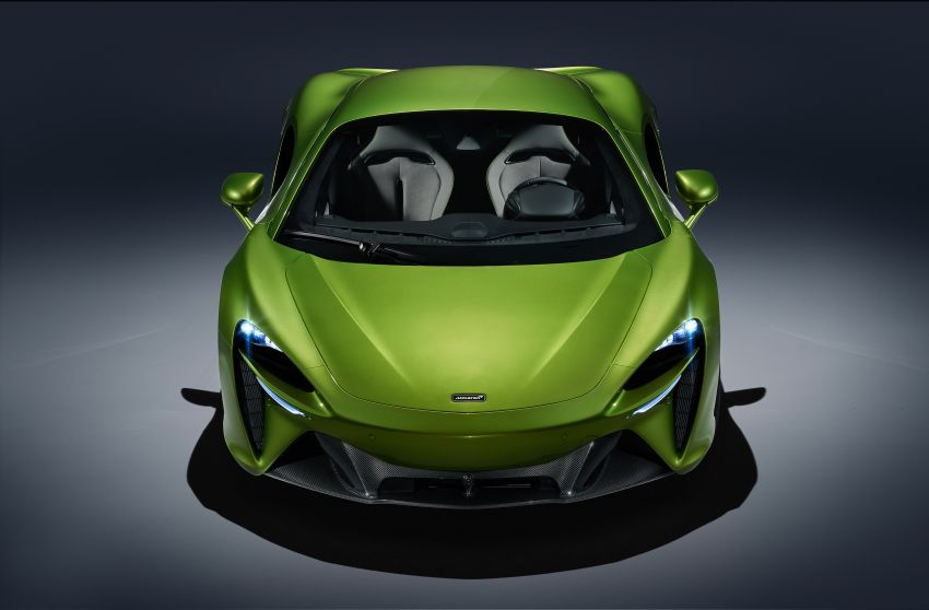 McLaren Artura debuts – new plug-in hybrid supercar with 680 PS and 720 Nm; 0-100 km/h in three seconds Image #1248882