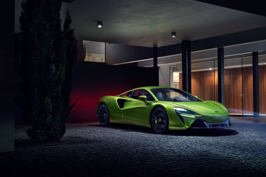 McLaren Artura debuts – new plug-in hybrid supercar with 680 PS and 720 Nm; 0-100 km/h in three seconds Image #1248910