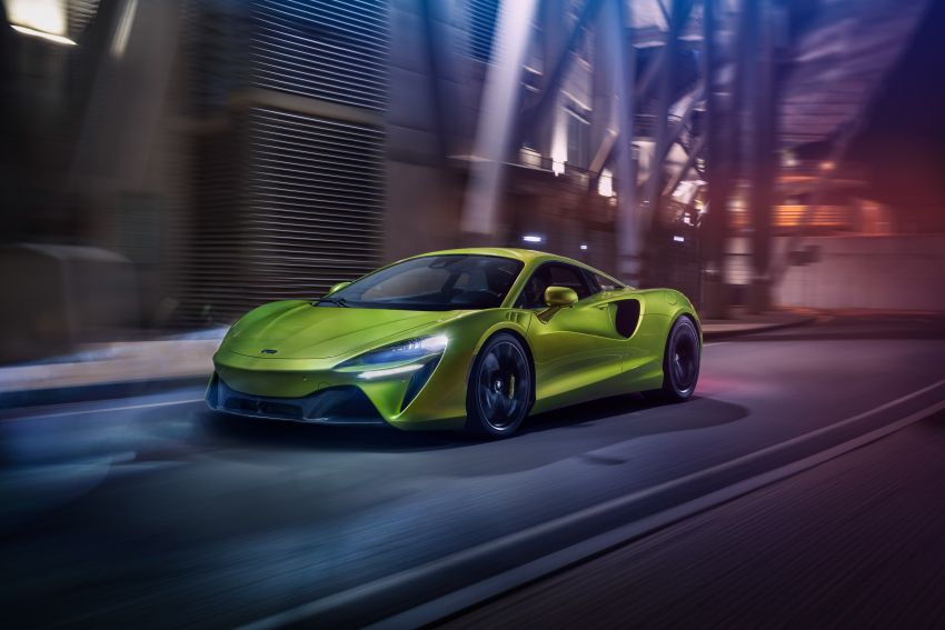 McLaren Artura debuts – new plug-in hybrid supercar with 680 PS and 720 Nm; 0-100 km/h in three seconds Image #1248913