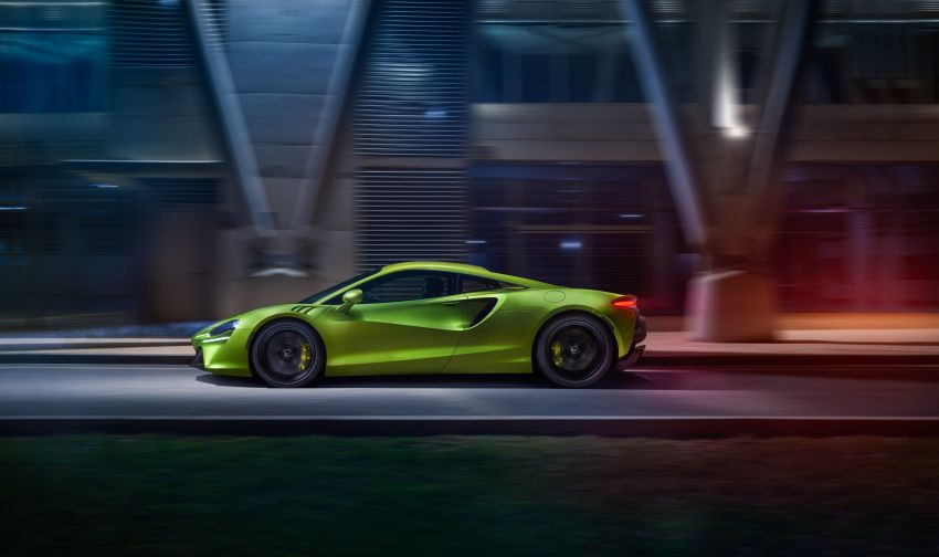 McLaren Artura debuts – new plug-in hybrid supercar with 680 PS and 720 Nm; 0-100 km/h in three seconds Image #1248914