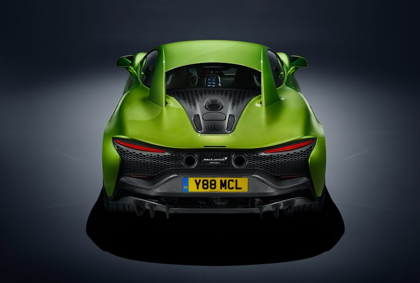 McLaren Artura debuts – new plug-in hybrid supercar with 680 PS and 720 Nm; 0-100 km/h in three seconds Image #1248883