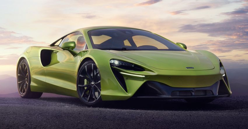 McLaren Artura debuts – new plug-in hybrid supercar with 680 PS and 720 Nm; 0-100 km/h in three seconds Image #1248919