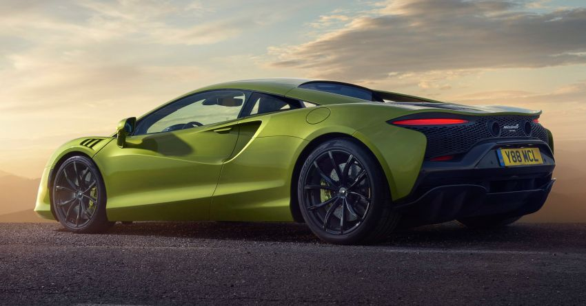 McLaren Artura debuts – new plug-in hybrid supercar with 680 PS and 720 Nm; 0-100 km/h in three seconds Image #1248920