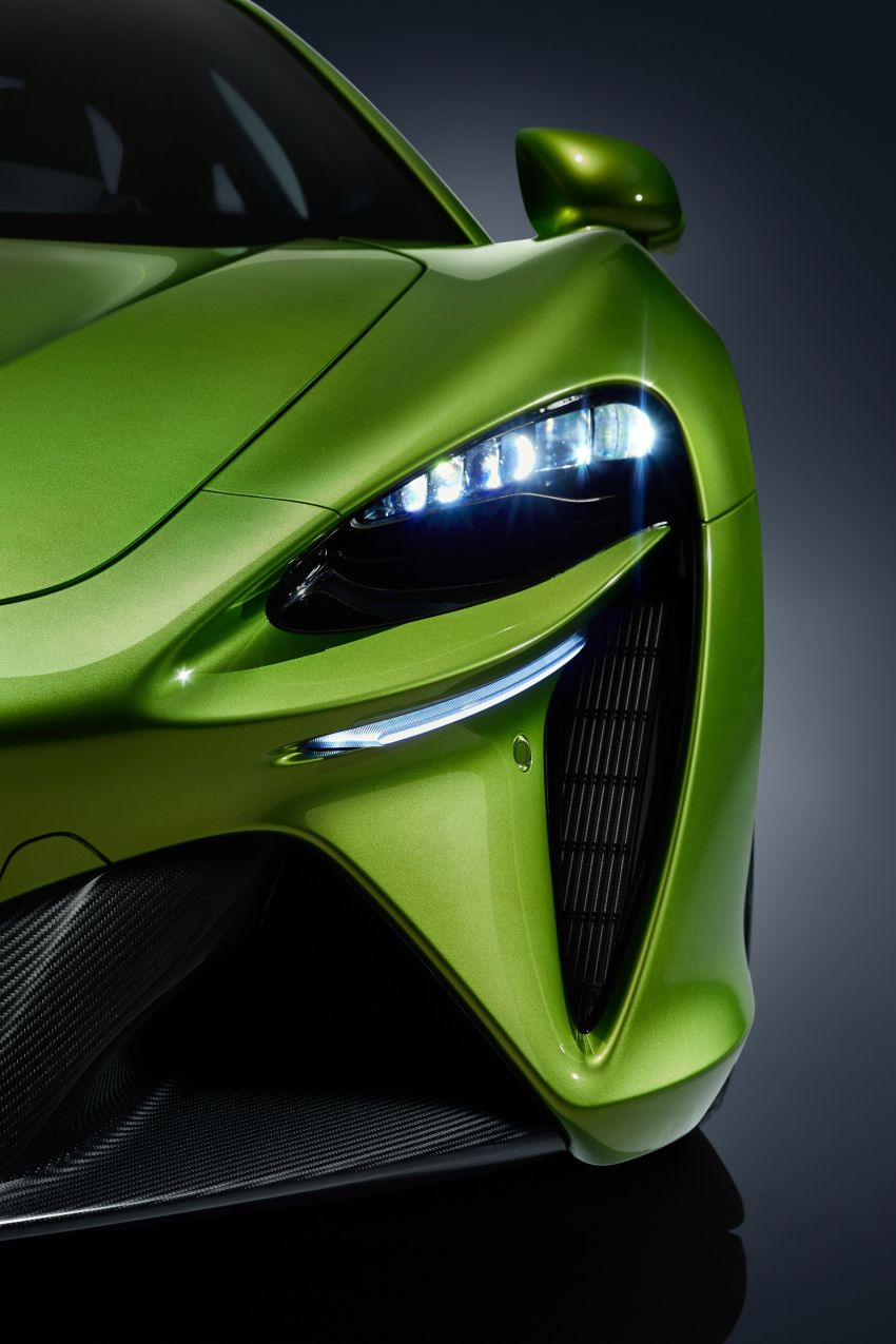 McLaren Artura debuts – new plug-in hybrid supercar with 680 PS and 720 Nm; 0-100 km/h in three seconds Image #1248886