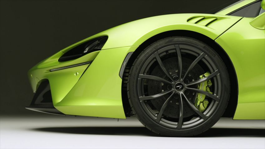 McLaren Artura debuts – new plug-in hybrid supercar with 680 PS and 720 Nm; 0-100 km/h in three seconds Image #1248888