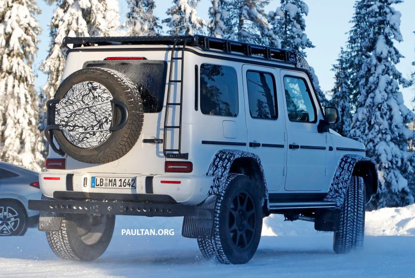 SPIED: W464 Mercedes-Benz G-Class 4×4² on test Image #1242418