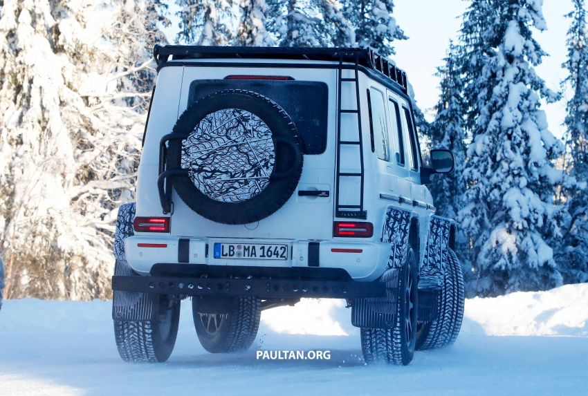 SPIED: W464 Mercedes-Benz G-Class 4×4² on test Image #1242419
