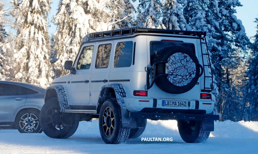 SPIED: W464 Mercedes-Benz G-Class 4×4² on test Image #1242420