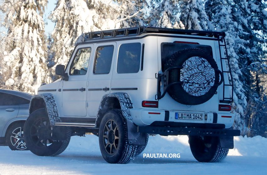 SPIED: W464 Mercedes-Benz G-Class 4×4² on test Image #1242421