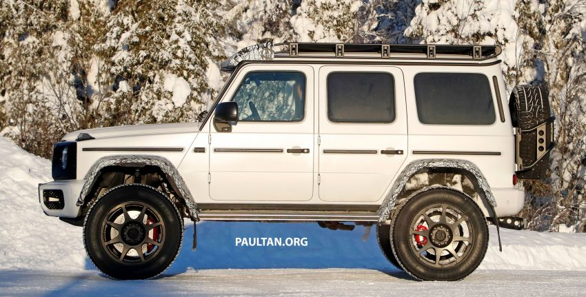 SPIED: W464 Mercedes-Benz G-Class 4×4² on test Image #1242423