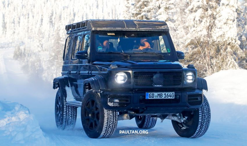SPIED: W464 Mercedes-Benz G-Class 4×4² on test Image #1242425