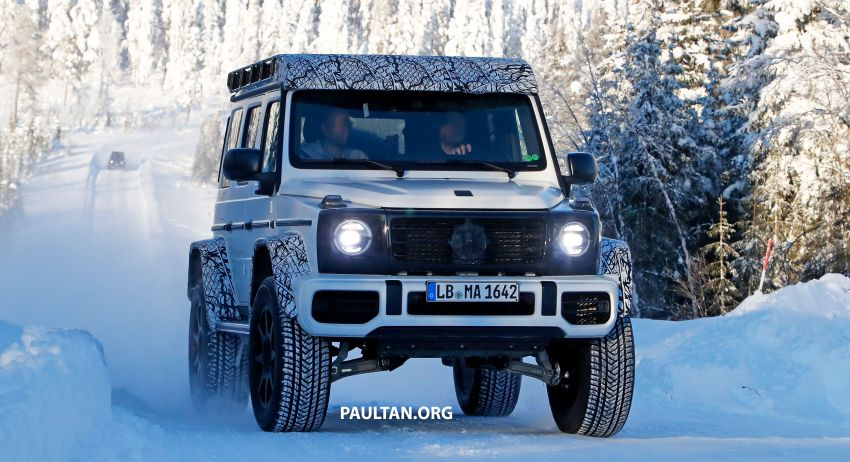 SPIED: W464 Mercedes-Benz G-Class 4×4² on test Image #1242409