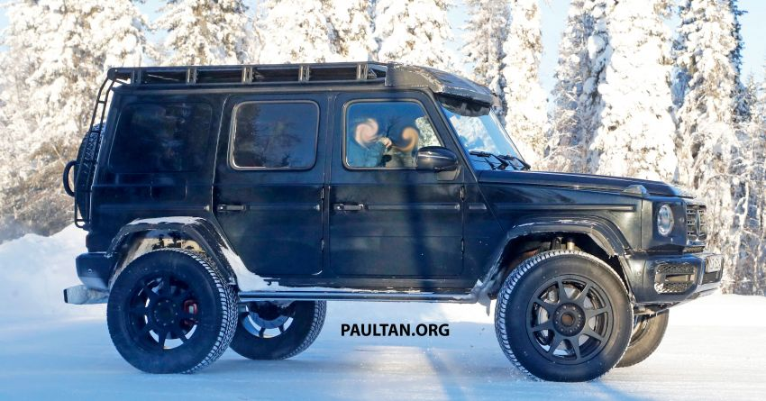 SPIED: W464 Mercedes-Benz G-Class 4×4² on test Image #1242427