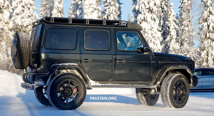 SPIED: W464 Mercedes-Benz G-Class 4×4² on test Image #1242428
