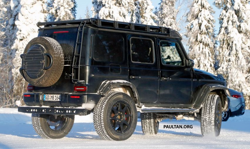 SPIED: W464 Mercedes-Benz G-Class 4×4² on test Image #1242429
