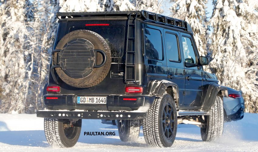 SPIED: W464 Mercedes-Benz G-Class 4×4² on test Image #1242430