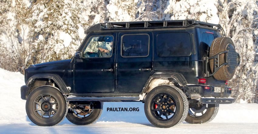 SPIED: W464 Mercedes-Benz G-Class 4×4² on test Image #1242432