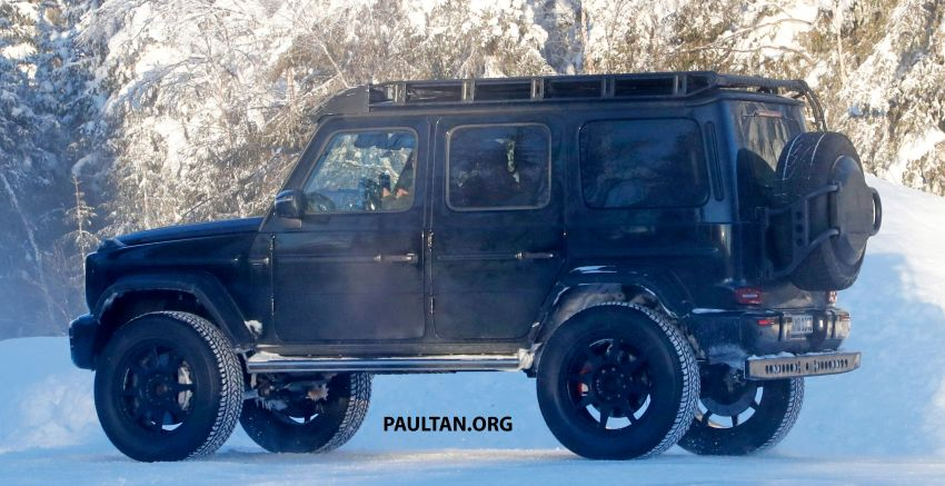 SPIED: W464 Mercedes-Benz G-Class 4×4² on test Image #1242433