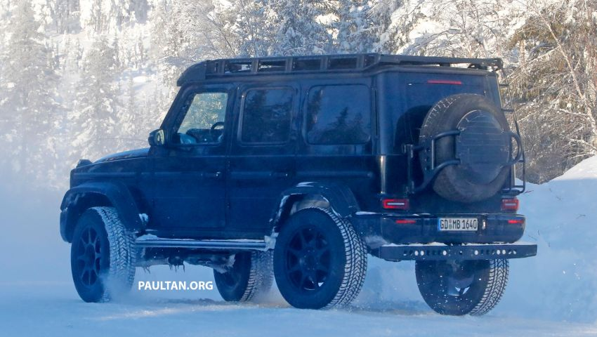 SPIED: W464 Mercedes-Benz G-Class 4×4² on test Image #1242434