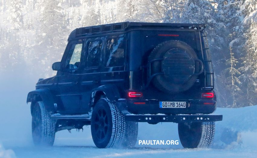 SPIED: W464 Mercedes-Benz G-Class 4×4² on test Image #1242435