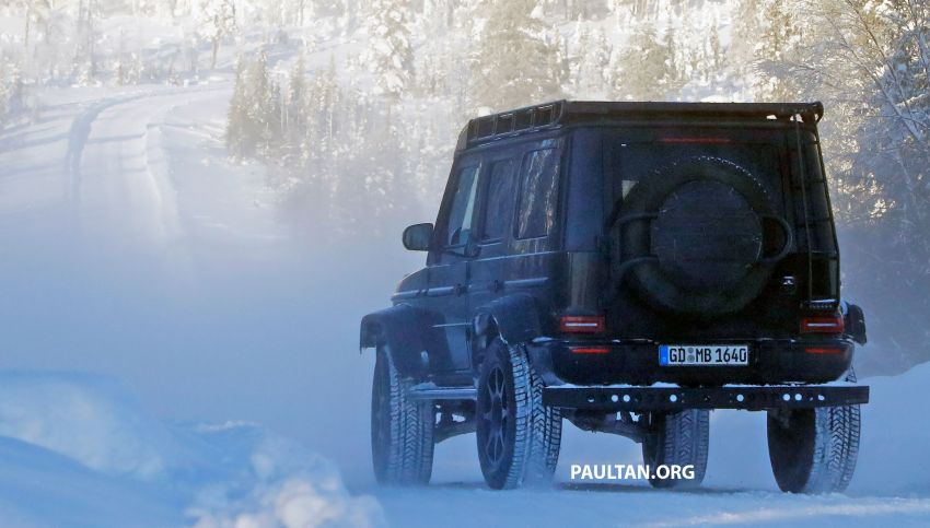 SPIED: W464 Mercedes-Benz G-Class 4×4² on test Image #1242436