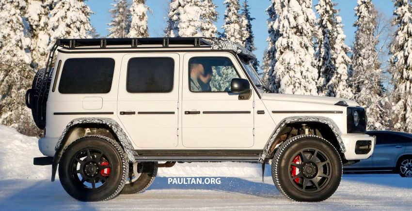 SPIED: W464 Mercedes-Benz G-Class 4×4² on test Image #1242415