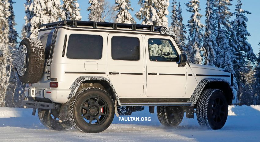 SPIED: W464 Mercedes-Benz G-Class 4×4² on test Image #1242416