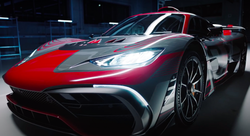 VIDEO: Mercedes-AMG One teased again, 2021 debut Image #1243567