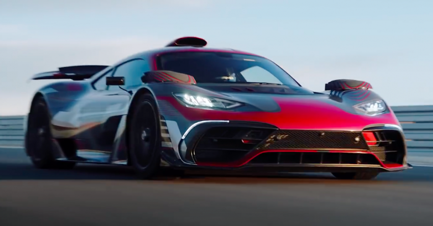 VIDEO: Mercedes-AMG One teased again, 2021 debut Image #1243570