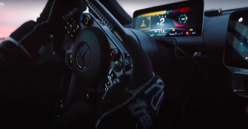 VIDEO: Mercedes-AMG One teased again, 2021 debut Image #1243571