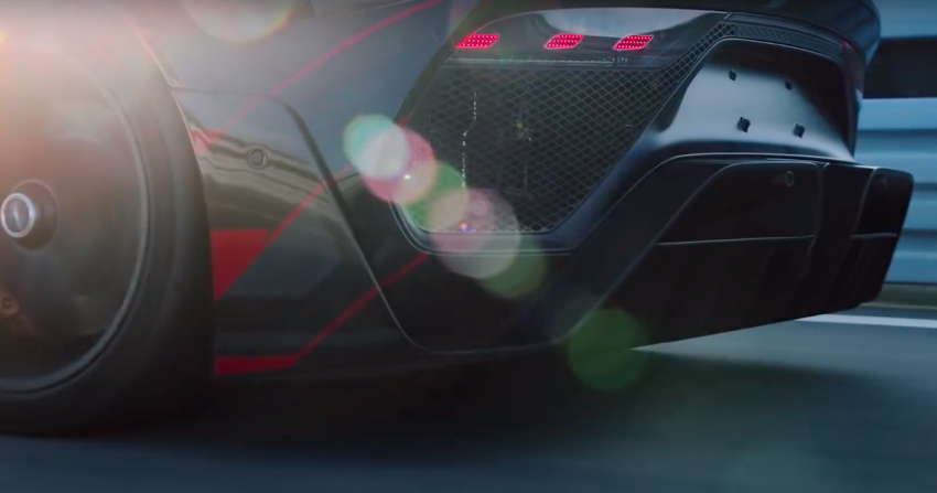 VIDEO: Mercedes-AMG One teased again, 2021 debut Image #1243572