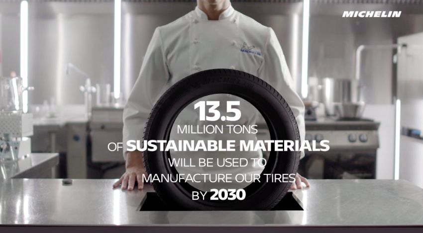 Michelin tyres to become 100% sustainable by 2050 Image #1253263