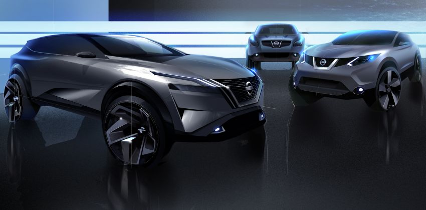2021 Nissan Qashqai revealed – sharp new looks, tech from X-Trail, new 1.3L mild hybrid, e-Power available Image #1250890