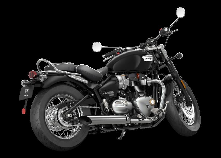 2021 Triumph Bonneville range gets model updates Image #1253191