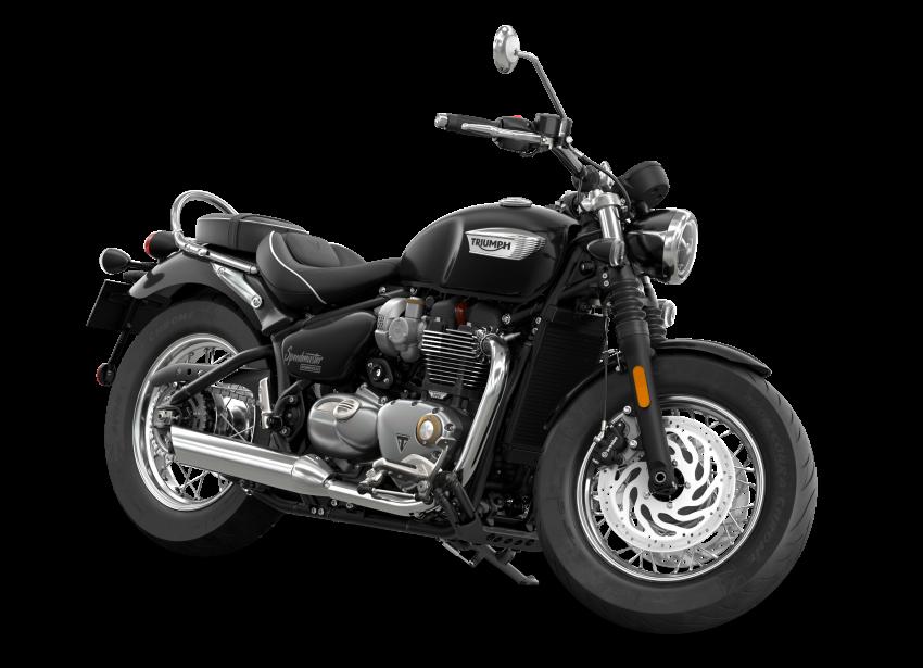 2021 Triumph Bonneville range gets model updates Image #1253192