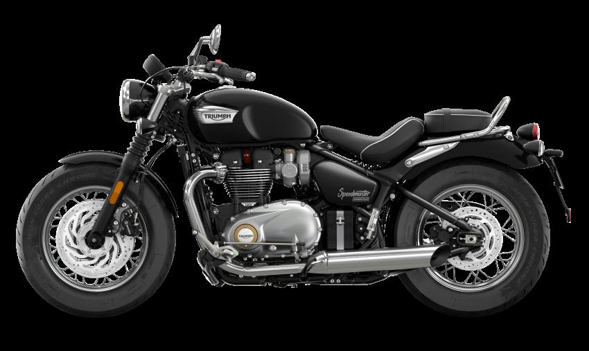 2021 Triumph Bonneville range gets model updates Image #1253193