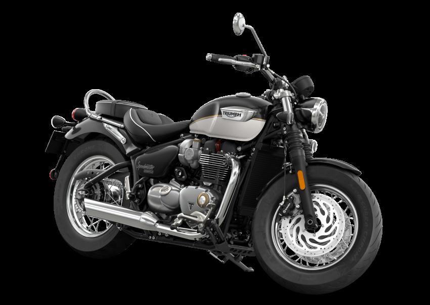 2021 Triumph Bonneville range gets model updates Image #1253196