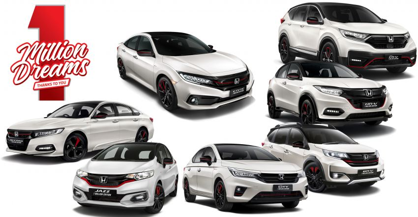 Honda Malaysia counts down to its 1 Millionth Unit – win one of seven special 1 Million Edition Honda cars! Image #1254385