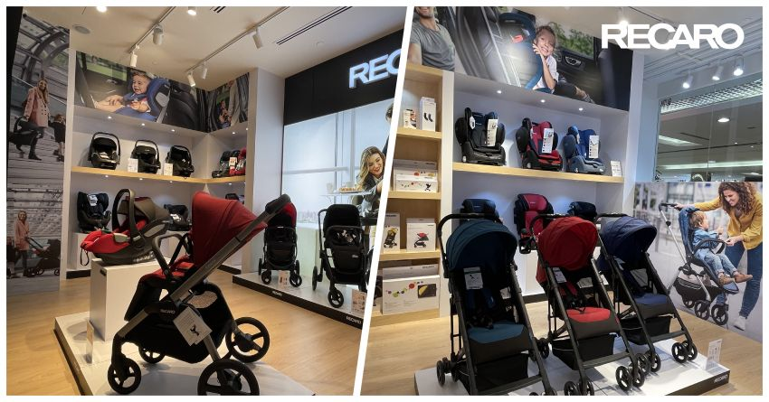 AD: Shop for the best child seat and baby gears at the new Recaro Kids Malaysia physical store in One Utama Image #1246300