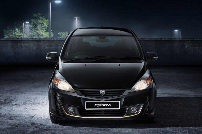 Proton Exora Black Edition tiba di pasaran – RM67,800 Image #1250434